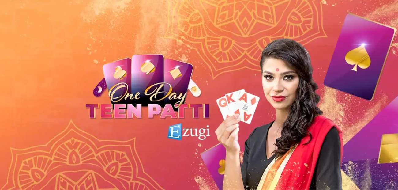 Selection of teen patti games at 10cric