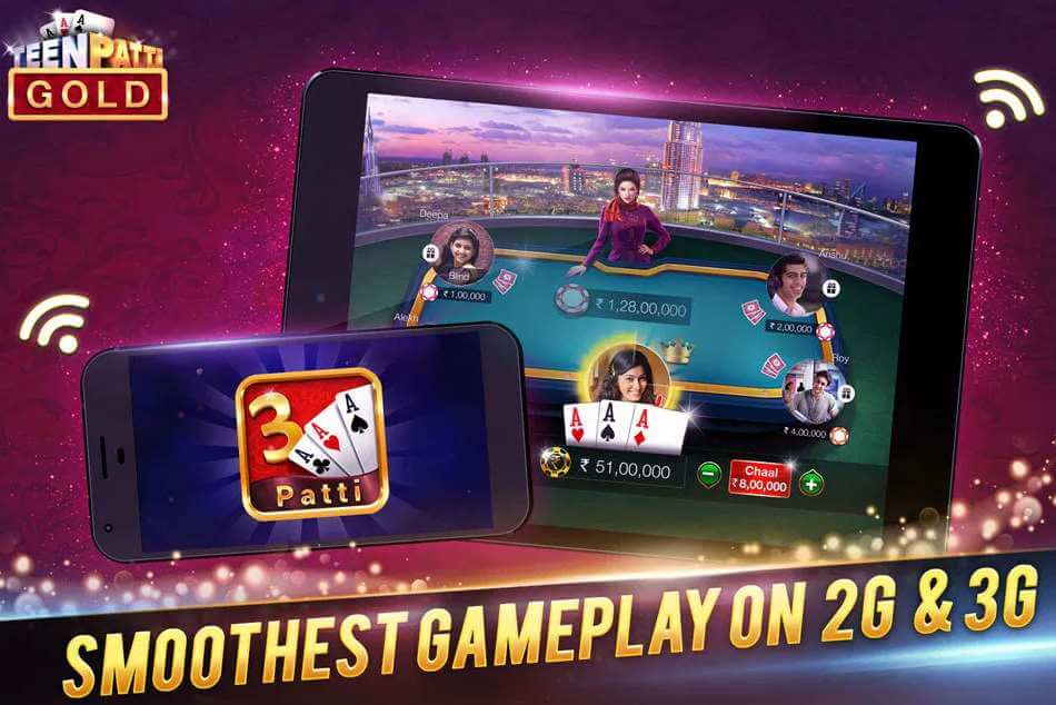 Overview of Teen Patti Gold from Moonfrog Lab